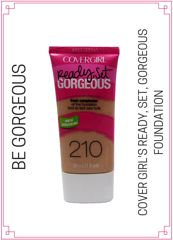 Cover Girl Be Gorgeous foundation Makeup