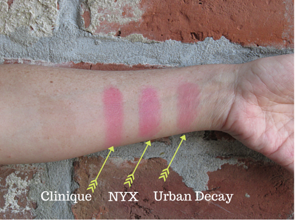 3 BLUSHES I'M LOVING NOW- Clinique, NYX, Urban Decay Swatches