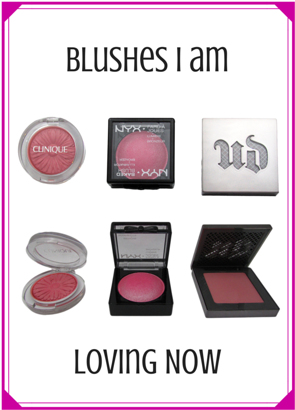 3 BLUSHES I'M LOVING NOW- Clinique, NYX, Urban Decay