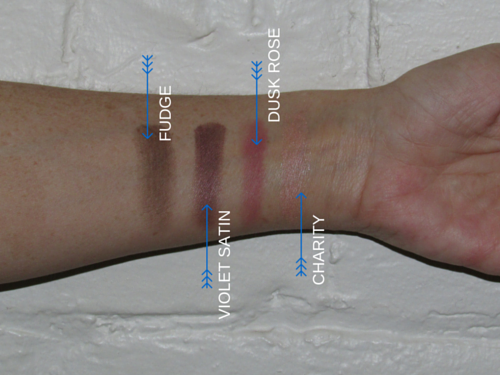 Gorgeous Eyeshadow with Custom Smokey Eye Shadow Shades Swatches