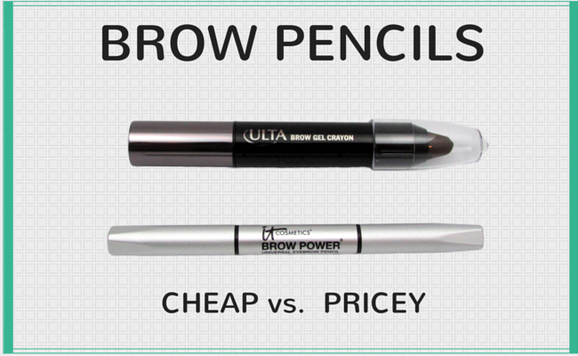 ULTA Brow Gel Crayon vs It Cosmetics Brow Powder