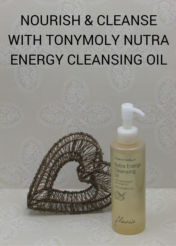TONYMOLY FLORIA NUTRA ENERGY CLEANSING OIL