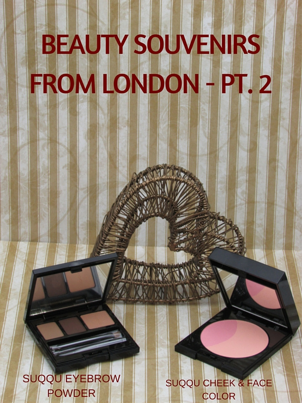 Suqqu Cheek Face Color Palette Balancing Eyebrow Powder