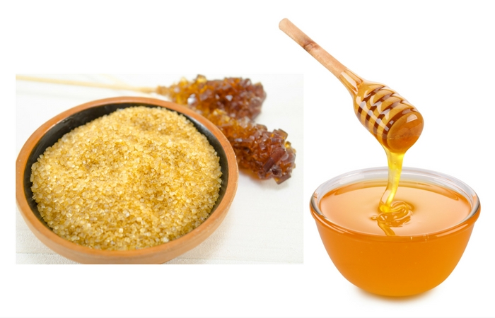 DIY Lip Scrub with Brown Sugar Honey Vanilla